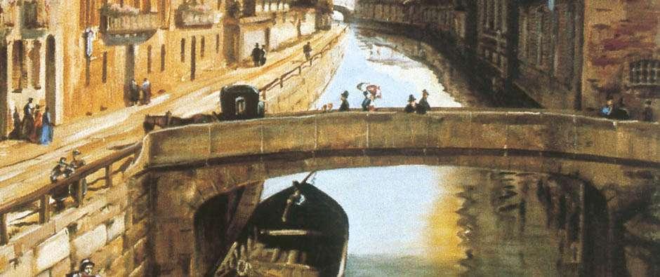 location a milano : il Museo dei Navigli
